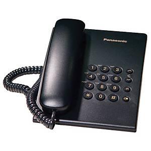 PANASONIC โทรศัพท์ KX-TS500MX สีดำ