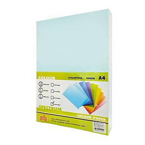 SB COLOURED COPY PAPER A4 80G - LIGHT BLUE - REAM OF 500 SHEETS