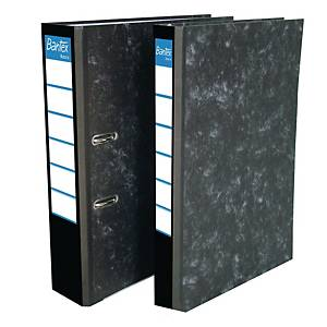 Bantex Basic Paper Board Lever FC Arch File Black 7cm