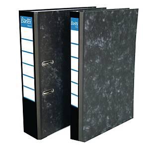 Bantex Basic Paper Board Lever FC Arch File Black 5cm