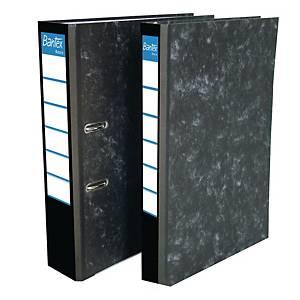 Bantex Basic Paper Board Lever Arch File Black 5cm