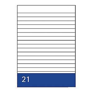 Kanzleipapier, holzfrei, A3/A4, liniert, 250 Blatt