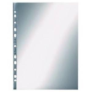 Prospekthüllen Leitz 4704, A4, PP, Stärke: 0,10mm, oben offen, genarbt, 100Stück
