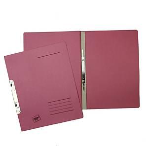 Závěsné 1/1 rychlovazače Hit Office classic - růžové, 50 ks