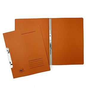 Závěsné 1/1 rychlovazače Hit Office classic - oranžové, 50 ks