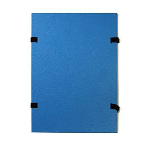 HIT OFFICE DOCUMENT FOLDER A4 BLU