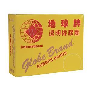 地球牌 透明橡根圈 1.75吋 - 每盒70g