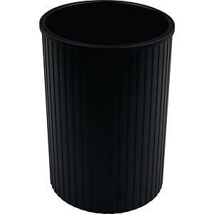 Stifteköcher Helit H6390795, Linear, schwarz