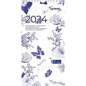 Lyreco weekkalender, viertalig
