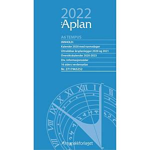 Kalendere Aplan A6 Tempus Dag Årssett