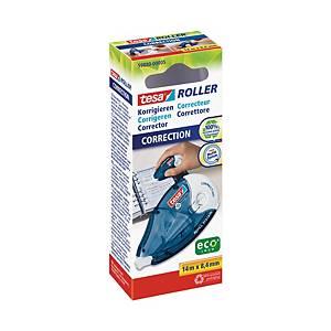 Korekčný roller tesa® s vymeniteľnou náplňou, 8,4 mm