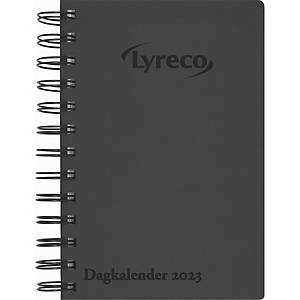 CALENDAR LYRECO LYRECO DAY CALENDAR BLACK 11,7X17 CM