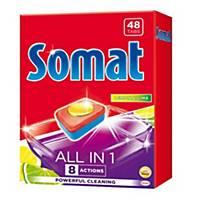 Tablety Somat do umývačky riadu All in one, 48 ks