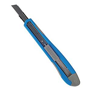 Hobbykniv Lyreco, 9 mm, blå