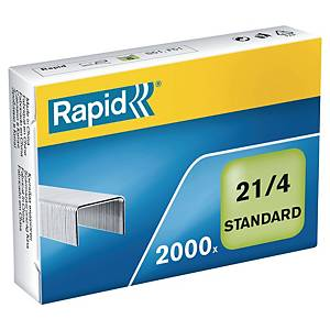 Hæfteklammer Rapid, 21/4, æske a 2.000 stk.