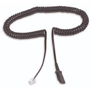 Adapterkabel Plantronics U10P, schwarz