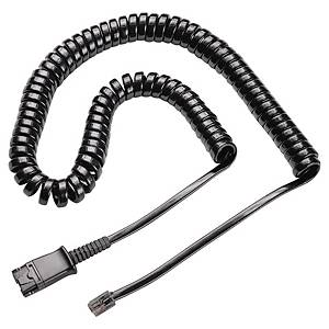 Plantronics U10P telephone cable for Supra Plus headsets