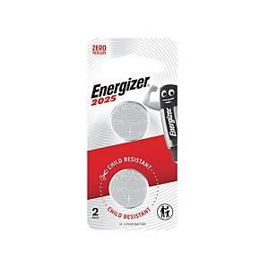 Energizer ECR2025 Lithium BAttery 3V - Pack of 2