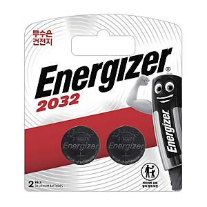 PK2 ENERGIZER CR2032 WATCH BATTERY