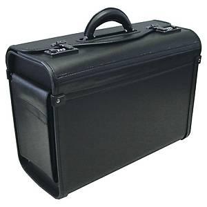 Piloten-Koffer Monolith Eco, ohne Rollen, schwarz