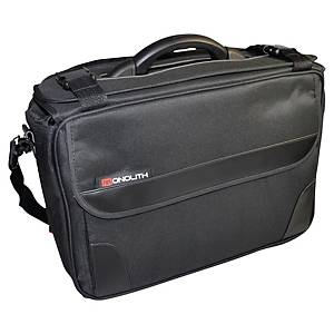 Monolith 2168 pilot case with 2 compartments soft nylon