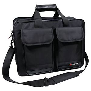Monolith 2375 computer case nylon with padded compartment for laptop black