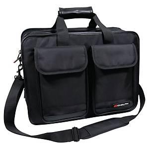 Notebook-Tasche Monolith Multi, Nylon, schwarz