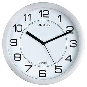 Horloge Unilux attraction - magnétique - silencieuse - Ø 19,5 cm - grise