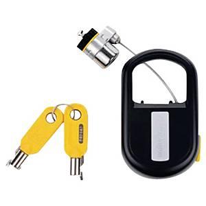 Câble antivol à clé Kensington MicroSaver pour PC portable - rétractable