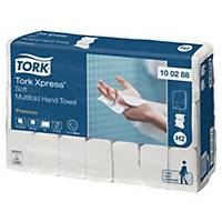 Tork Xpress H2 White Mini 2 Ply Soft Multifold Hand Towel - Pack of 21 X 110