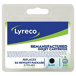 LYRECO HP C6656AE No.56 COMPATIBLE INKJET CARTRIDGE - BLACK