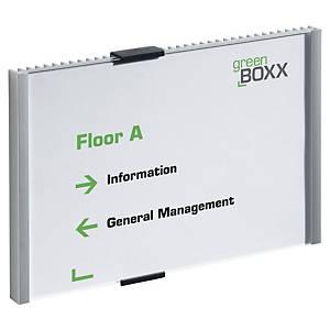 Plaque de porte Durable Info Sign - A5 paysage - aluminium