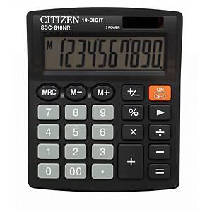 CITIZEN SDC810NR asztali számológép, fekete, 10 számjegy