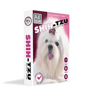 SHIH-TZU COPY PAPER A4 70G WHITE 450 SHEETS/REAM - 5 REAMS/BOX