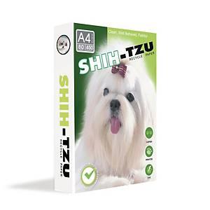 SHIH-TZU COPY PAPER A4 80G WHITE 450 SHEETS/REAM - 5 REAMS/BOX