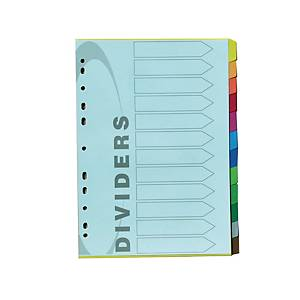 Cardboard Divider 12 Pages 100G