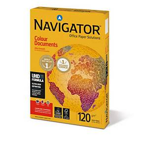 Papier Navigator Colour Documents A4 120 g/m2, blanc, emb. de 250 feuilles