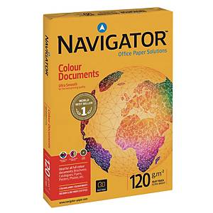 Navigator Colour Documents 120gsm A4 - Ream of 250 Sheets