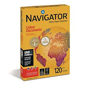 Navigator Color Documents kopiopaperi A4 120g, 1kpl=250 arkkia