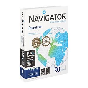 Papier A4 blanc Navigator Expression premium, 90 g, les 500 feuilles