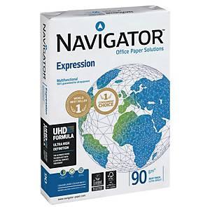 Papier multiusages Navigator Expression A4 90 g/m2, blanc, emb. de 500 feuilles