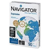 Papier blanc A4 Navigator Expression - 90 g - ramette 500 feuilles
