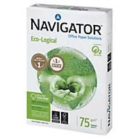Caja de 5 paquetes 500 hojas de papel Navigator Eco-Logical - A4 - 75 g/m2
