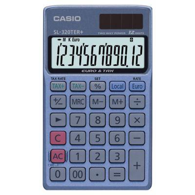 Casio SL-305ECO Calculatrice solaire Gris