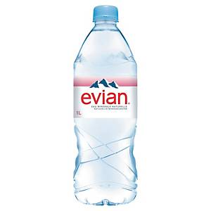 PK12 EVIAN BOTTLE 1L