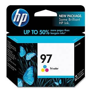 HP ตลับหมึกอิงค์เจ็ท HP97 C9363WA 3 สี