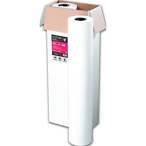 Plotterpapier Clairefontaine, 90g, 91,4cm x 45lfm (B x L), weiß, 2 Stück