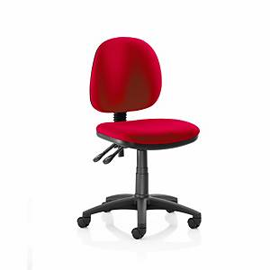 Origin Medium Back Operators Chair Without Arms - Red