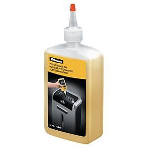 Botella de aceite lubricante para destructora Fellowes - 355 ml