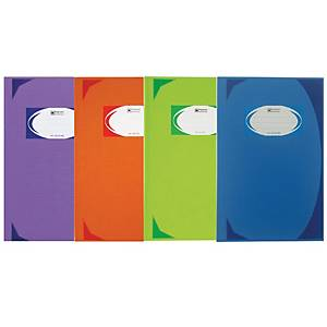 ELEPHANT HARD COVER BOOK HC-601 210MM X 320MM 70G 200 SHEETS ASSORTED